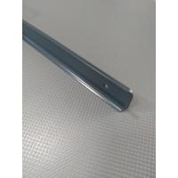 Стикова планка для стільниці LUXEFORM кутова колір RAL7016